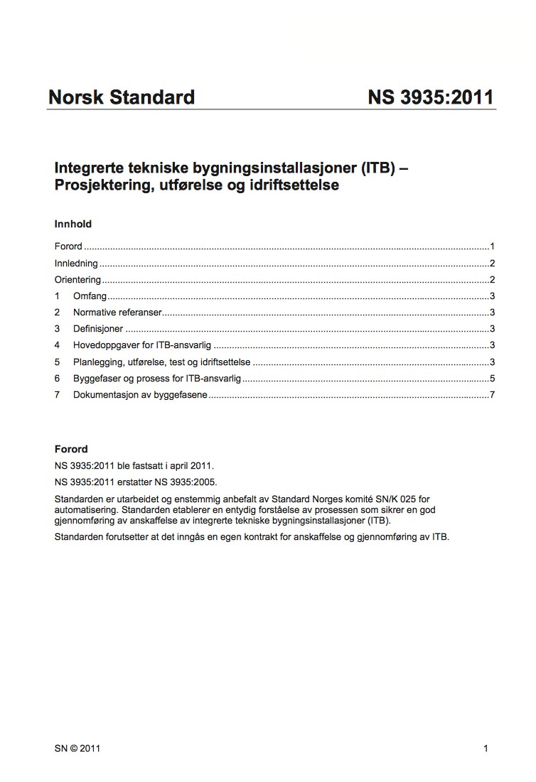 ITB - Innhold